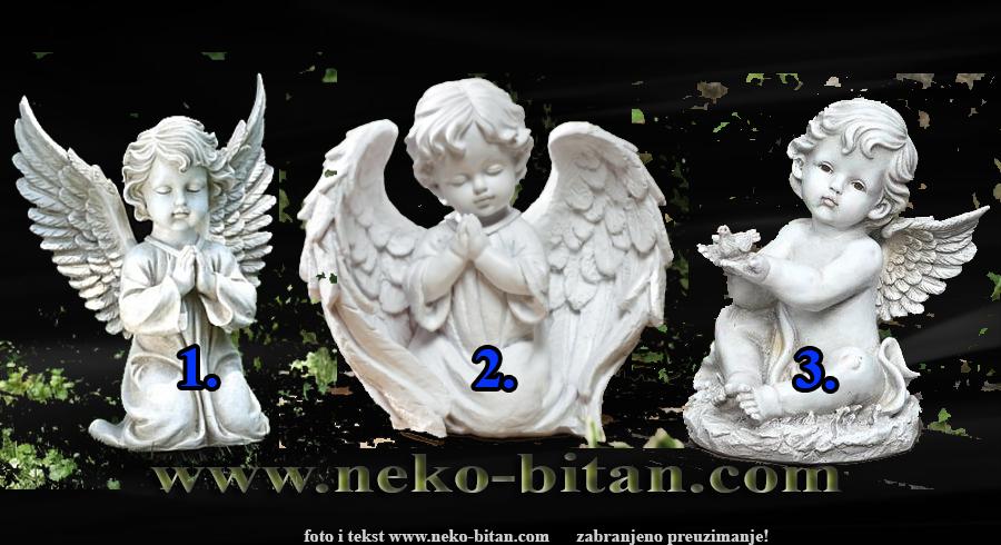 Vaš anđeo čuvar vam šalje važnu poruku. Izaberite jednog i saznajte šta vam poručuje
