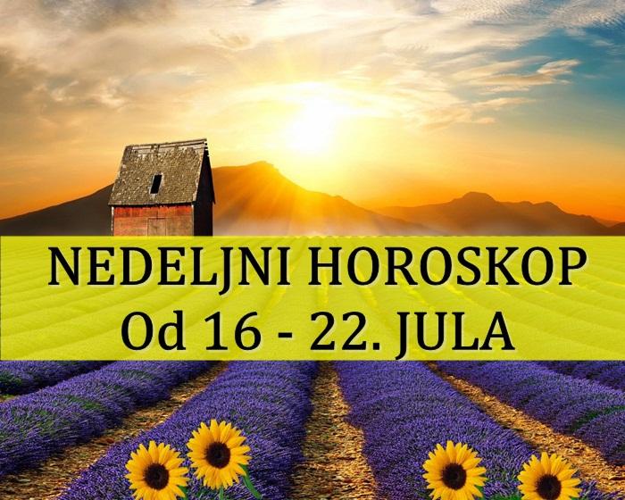 NEDELJNI HOROSKOP Od 16 – 22. JULA 2018. godine