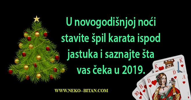 U novogodišnjoj noći stavite špil karata ispod jastuka: Ako ujutro izvučete HERC, evo šta vas čeka u 2019. godini