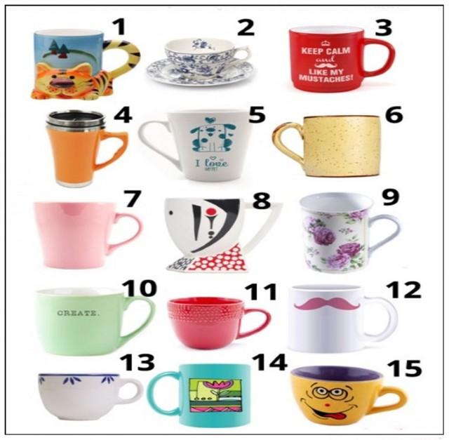 Hajmo da se igramo : Odaberi omiljenu šoljicu za kafu i otkrij kakva si osoba!