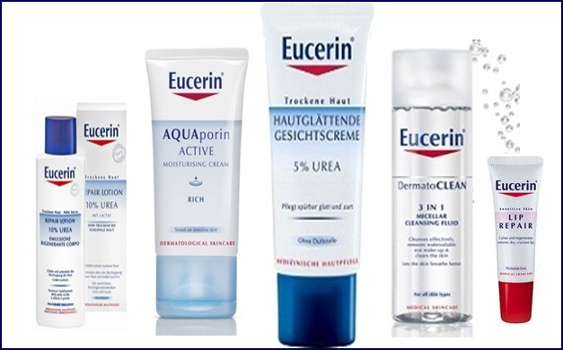 Eucerin kozmetika za suvu i osetljivu kožu lica