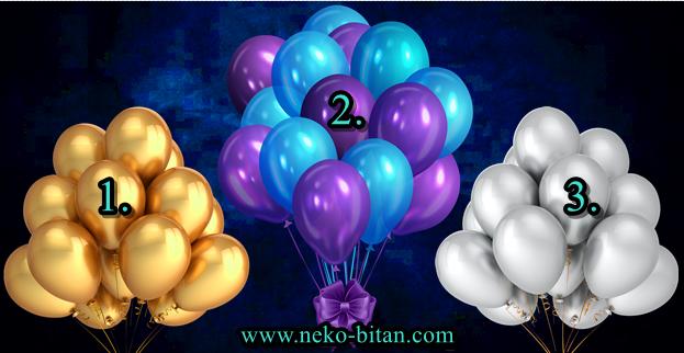 BALONI SREĆE! Izaberite najlepše balone. Rećiče vam sve o vama i predvideti skoriju budućnost.